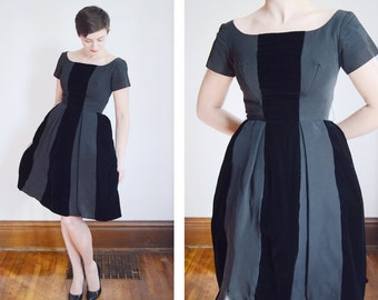 GiGi young 1950s Paneled Party Dress- XS/S