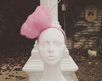 Candy Floss headpiece headband vintage fairground