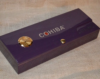 Desk Valet / Desk Clock Cigar Box No. 608.161
