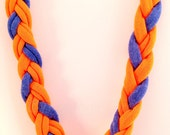 Sensory Jewelry size Medium Orange and Blue