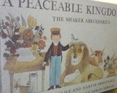 Vintage Childrens Book - A Peaceable Kingdom  - The Shaker Abecedarius - Children's Book - Hardcover edition - Like New Condition