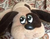 Pound Puppy - Brown Spotted Newborn Puppy