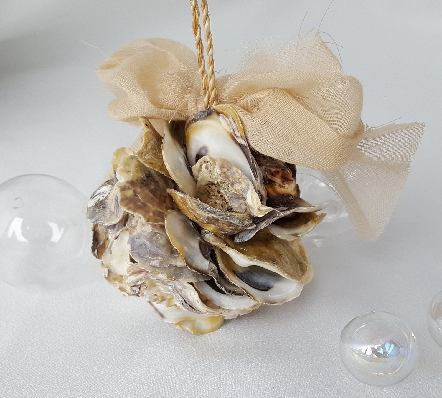 oyster shell decor decorchristmas ornament nautical decor oyster shell 1360