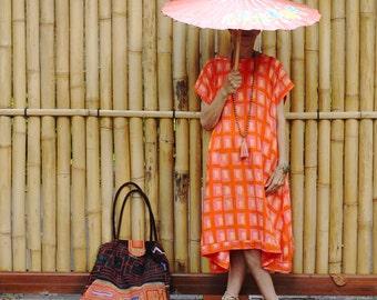 Irra Dress, Oversize, Bali Batik, Rayon