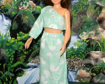LMLY-203) Lammily doll clothes, 1 long skirt and top