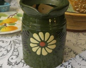 Alsace Soufflenheim French Pottery Jug