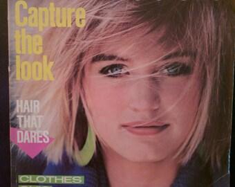 Seventeen magazine from 1985