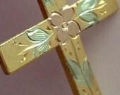 D B & Co Tri color Religious Cross