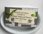Oatmeal, Milk and Honey Goats Milk Soap