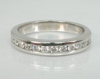 Vintage Estate Diamond Ring- Women's Wedding Ring - Petite Size 4