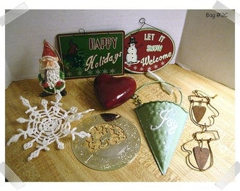Christmas Craft Supplies/Assorted Lot (#6)/ Holiday Crafts/ Supplies**