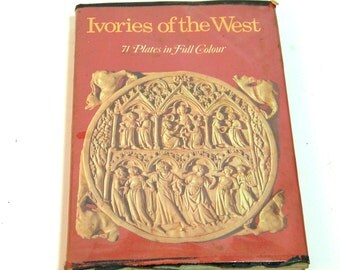 Ivories Of The West By Massimo Carra, Vintage Book
