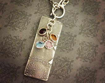 Fingerprint Jewelry - Fingerprint Necklace - Handwriting Jewelry - Handwriting Necklace - Gift for her- Gift for mom - Say Anything Jewelry