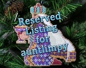 Reserved Listing for auntlimpy - Melchior
