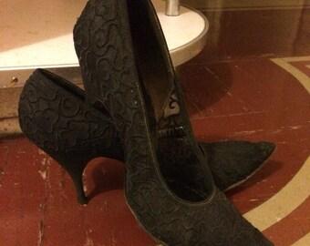 SALE!!!Vintage designer Palter Deliso 50s heels
