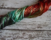 NEW - Hand-dyed Silky Cord in COUNTRY BACKROAD, 6 yards