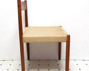 Danish Modern Mid Century  Rope Chair