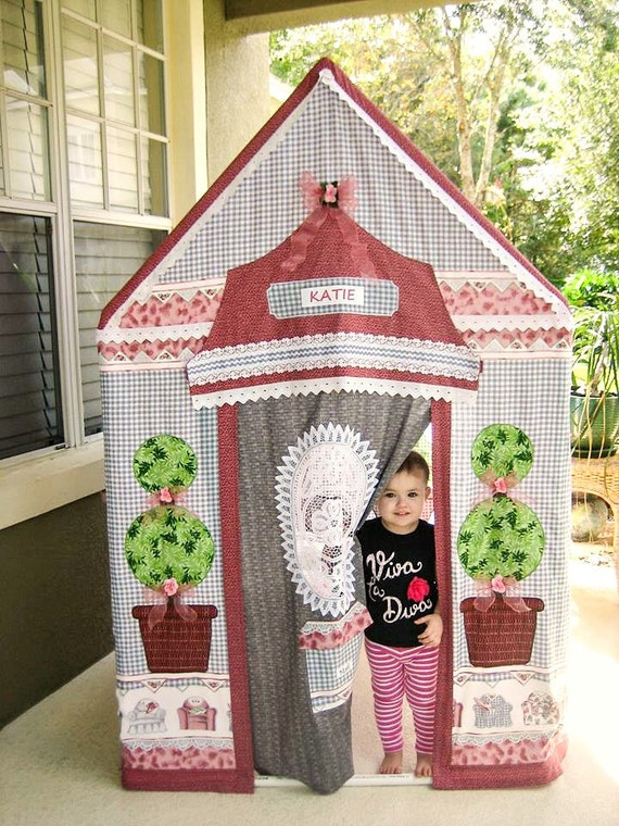 One-Of-A-Kind Children's Playhouse English Cottage Gray