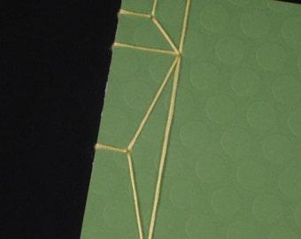 Lemon and Lime - Notebook - Japanese Stab Binding