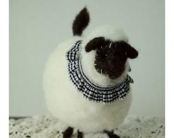 Gangly Blackface Sheep For Country Home Decor