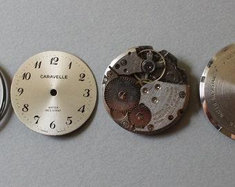 Vintage Caravelle Watch Parts