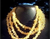 SALE NATURAL BEAUTY lll - Beautiful citrine necklace