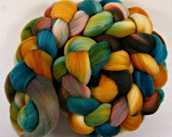 Azteca merino wool top for spinning and felting (4.1 ounce)