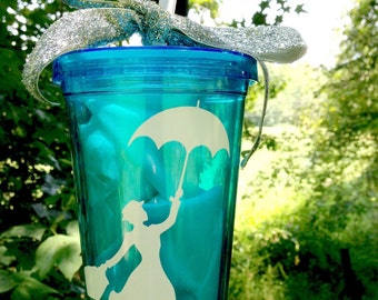 Fly a kite inspired Tumbler Cup- Add personalized FREE for limited time. 16oz