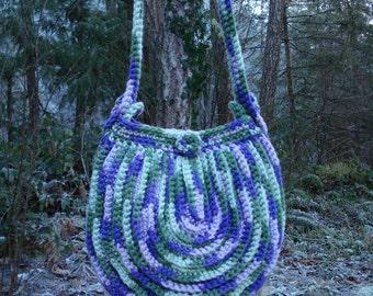 Crochet Pattern PDF - An Almost Round Bag - PA-219