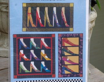 Watch Your Step Quilted Wall Hanging Pattern