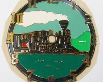 """Train Clock Face Vintage Steam Engine Clock Face DIY Clock Face Locomotive Clock 6"""""""