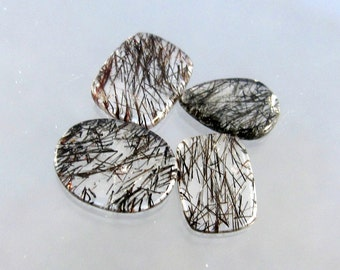 Tourmalated Quartz Designer Cabochon SALE HALF OFF