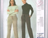Burda Plus Start 3 sewing pattern 2542. 2-length trouser/pants. Uncut pattern.