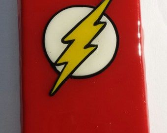The Flash Comic inspired hard phone cover or case (Android, Apple or Windows) Justice League iPhone, Samsung, LG, HTC, Motorola, Nokia