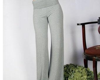 foldover lounge pant - GEM sleepwear range - made to order