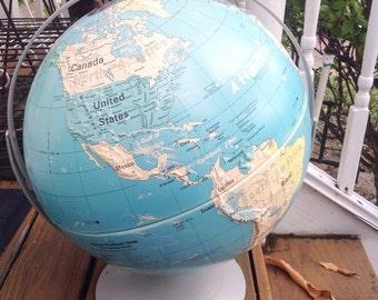 Vintage Extra Large Nystrom globe.