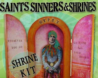 CURVED SHRINE Kit -   Saints, Sinners & Shrines - Alternatives to Honoring the Divine Within
