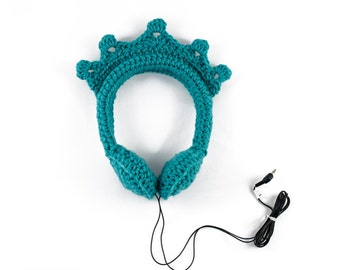 Frozen Inspired Crown Adjustable Headphones!