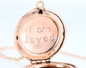 UPGRADE - Hand Stamping for Lockets and Pendants - Purchase this Listing Along with your Item to Add Your Name, Initial, Date or Message