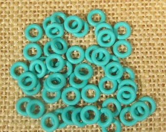 25% OFF 7.25mm Aqua Rubber O-Rings for 5mm Leather