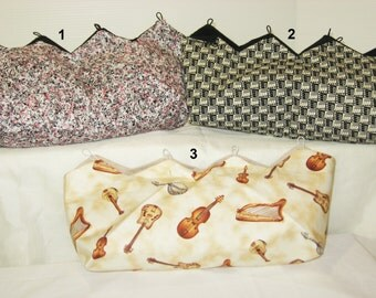 Assorted Music Covers for Purses
