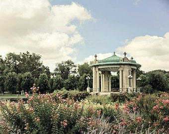 "St. Louis Photograph. ""Forest Park Pavillion"" Fine Art Print. Missouri Architecture, Wall Art, Home Decor"