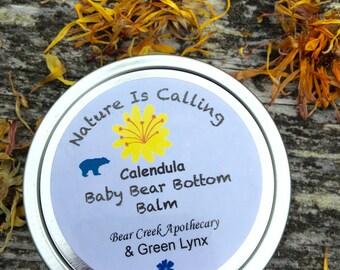 Calendula Baby Bear Botton Balm       2 oz screw top can