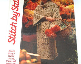 1986 Stitch by Stitch Needlecrafts Book - Volume 16 - Torstar Books