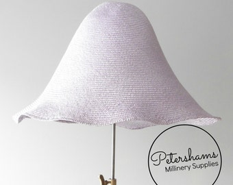 Visca Flare Hat Body (Un-Stiffened) for Millinery & Hat Making - Lilac