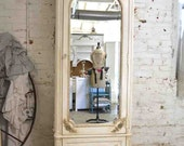 RESERVE BRITTANY Do not purchase Painted Cottage Chic Shabby Romantic French Armoire AM184