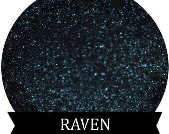 Midnight Blue Eyeshadow RAVEN Mineral makeup