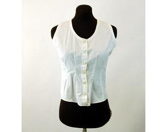Edwardian sportswear soft corset vest soft corset Size 34