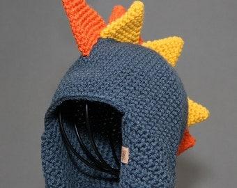 Crochet Hat PATTERN Dinosaur Hat Crochet Hat Pattern Includes 5 Sizes Newborn to Adult