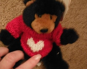Cutest Little Valentines Mink Teddy ...Ex Cond--HARD Find--Great mom's Day Gift